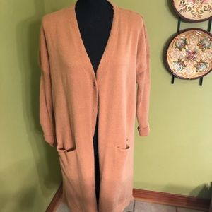 EUC Long Sweater Cardigan With Buttons!
